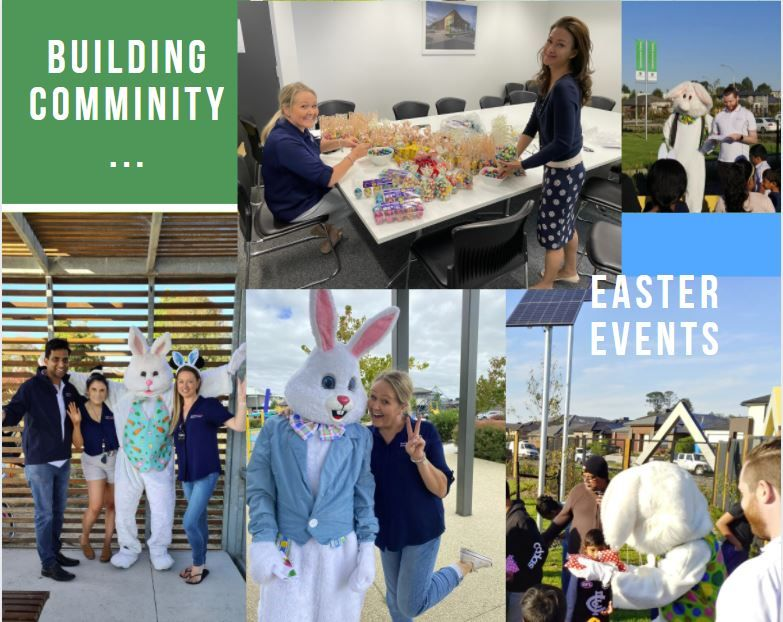 Building vibrant and connected communities……at Easter